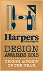 Harpers Design Agency of the Year 2016